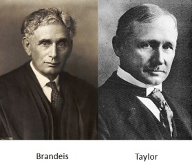 Brandeis and Taylor